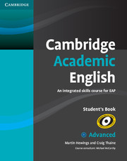 Cambridge Academic English Advanced SB9780521165211