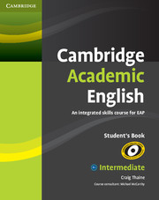 Cambridge Academic English SB 9780521165198