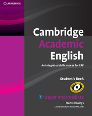 Cambridge Academic English Upper Intermediate SB9780521165204