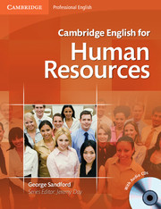 Cambridge English for Human Resources 9780521184694