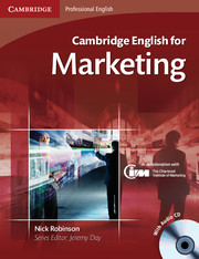 Cambridge English for Marketing 9780521124607
