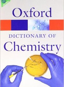 Dictionary of Chemisty