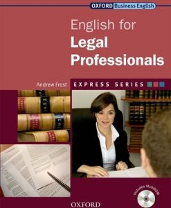 English for Legal Professionals 9780194579155