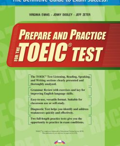 Prepare and Practice for the TOEIC test SB