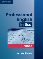 Professional English in Use Finance 9780521616270