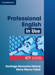 Professional English in Use ICT 9780521685436