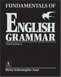 Fundamentals of English Grammar 9780130136312