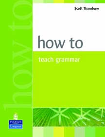 How to teach grammmar 9780582339323