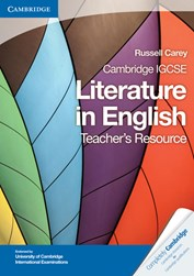 Cambridge IGCSE Literature in English Teacher Resource 9781107637054i