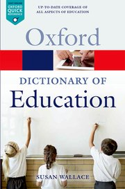 9780199679393 Oxford Dictionary of Education