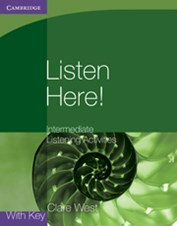 9780521140362 GPRE Listen Here! Intermediate Listening Activities with Key