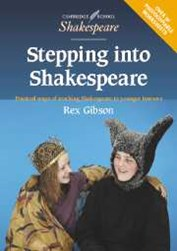 Stepping into Shakespeare 9780521775571