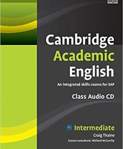 Cambridge Academic English Intermediate Audio CD