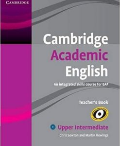 Cambridge Academic English Up- Intermediate