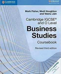 Cambridge IGCSE and O level Business Studies CB Revised Edition