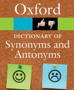 9780198705185 Oxford Dict of Syn and Antonyms